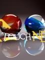 színes üveggolyók